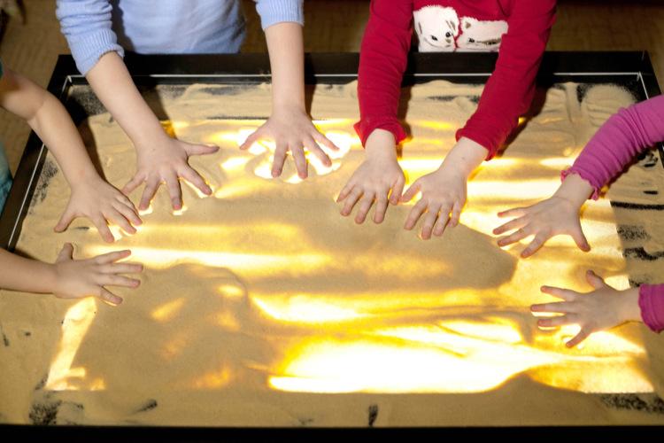 Как сделать песочную картинку - Раум Профи
